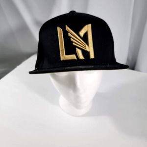 LA Soccer Club, black and gold, Mitchell and Ness